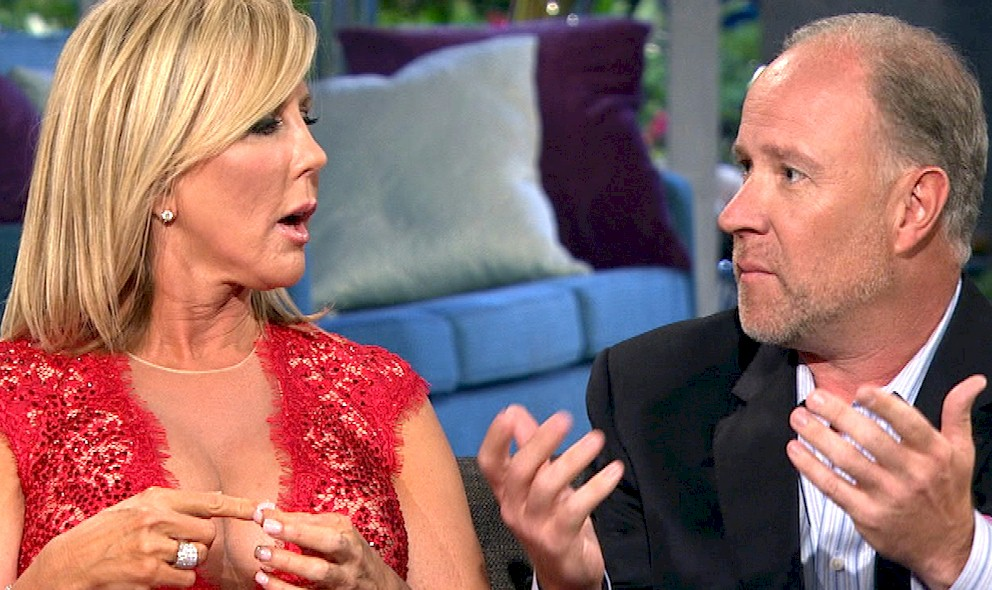 Brooks Ayers Cancer: Vicki Gunvalson, Brooks Break Up 2015: EXCLUSIVE