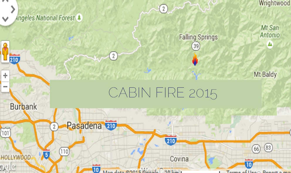 Cabin Fire Map: California Fire Map Updated Overnight
