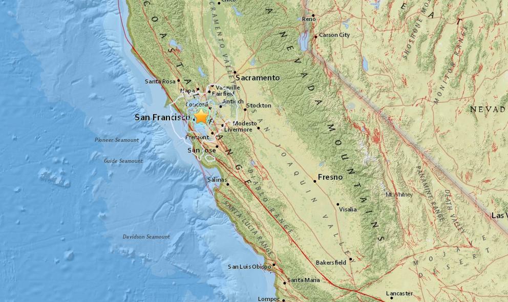 California Earthquake 2015 Today Strikes San Francisco, Berkeley
