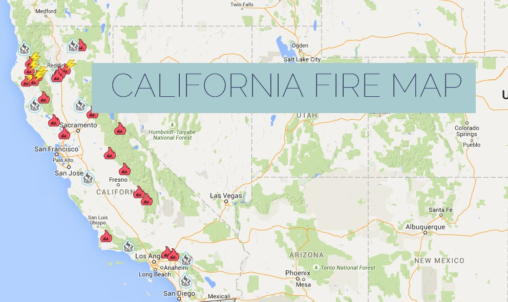 Anza Fire Map California Fire Burns E Of Temecula W Of La - Southern california map la quinta