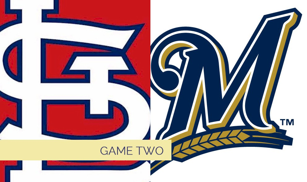 Cardinals vs Brewers 2015 Score Heats Up Saturday Baseball, Game 2