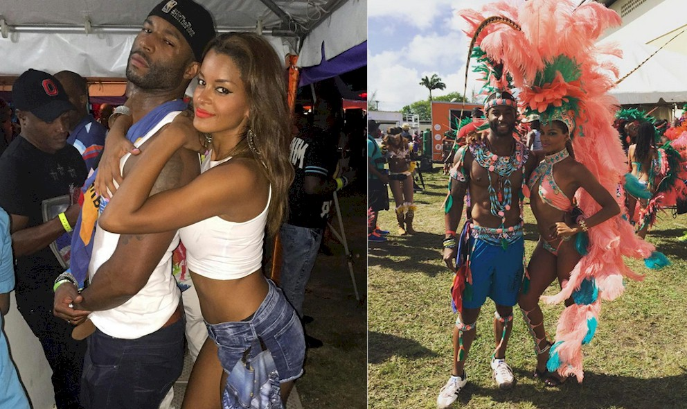 RHOA Claudia Jordan, Rob Riley Not Dating on Atlanta Housewives: EXCLUSIVE