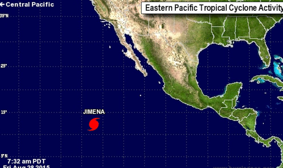 Hurricane Jimena Projected Path Mexico Revealed by Hurricane Center