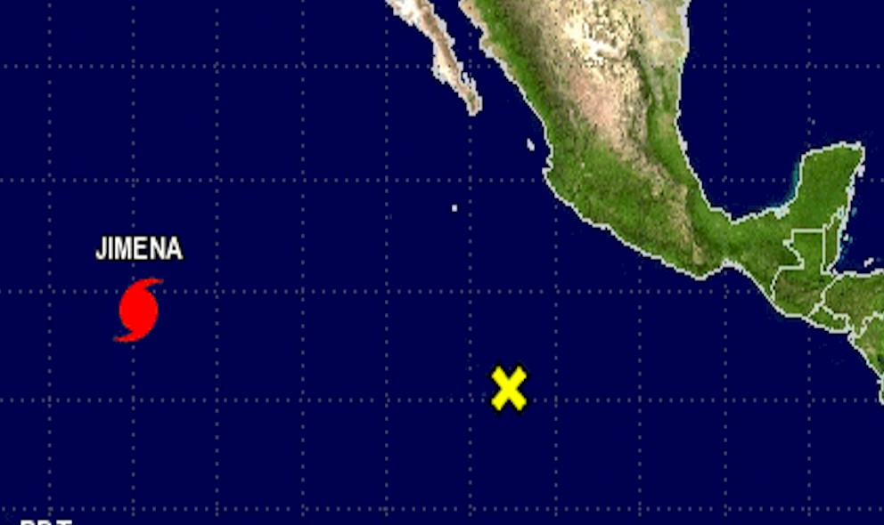 Hurricane Jimena Projected Path Updated Today, NHC