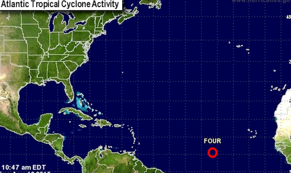 Hurricane Danny Projected Path? National Hurricane Center Updates TD 4