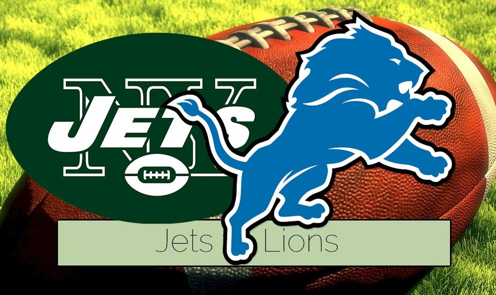 Jets vs Lions 2015 Score Kicks of NFL Preseason Football