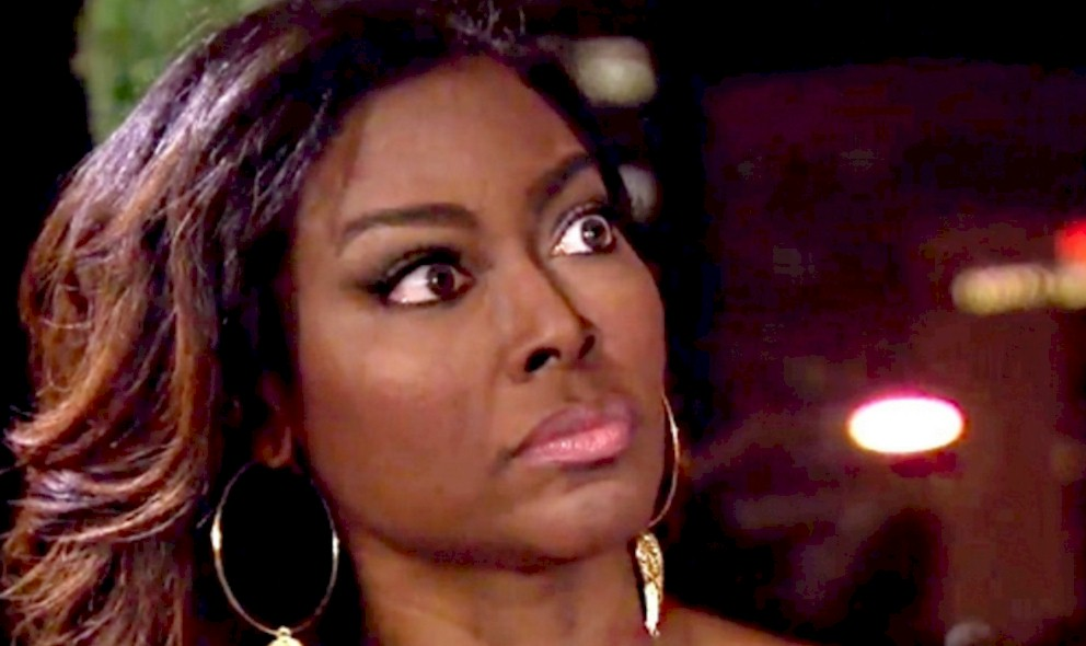 Kenya Moore Attacked in RHOA Water Fight With CoStar? REPORT