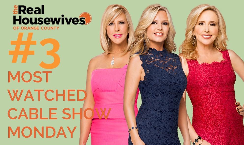 Tamra Barney, Shannon Beador, Vicki Surge RHOC to #3 Show Monday: EXCLUSIVE