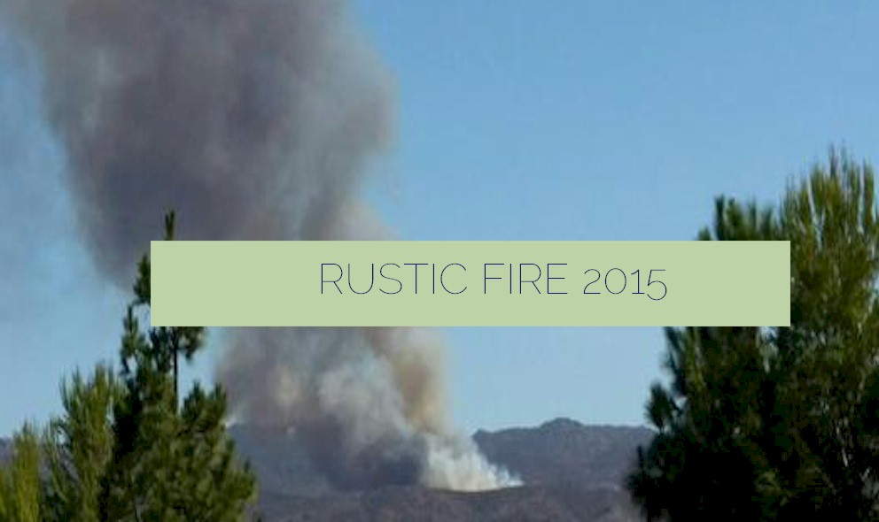 Rustic Fire: Moorpark Simi Valley Fire Burns Today