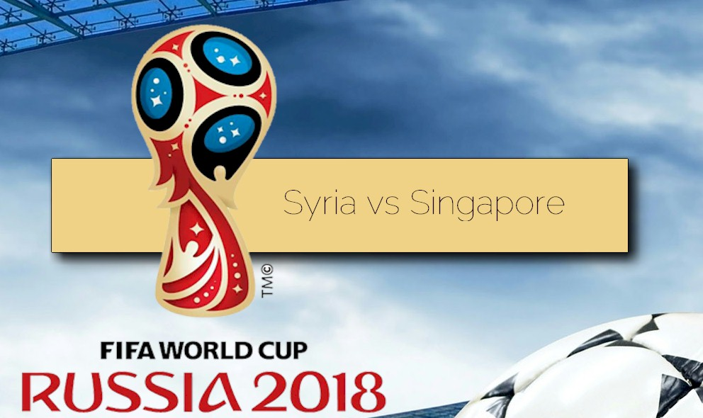 Syria vs Singapore 2015 Score Prompts World Cup Qualifier WC Asia
