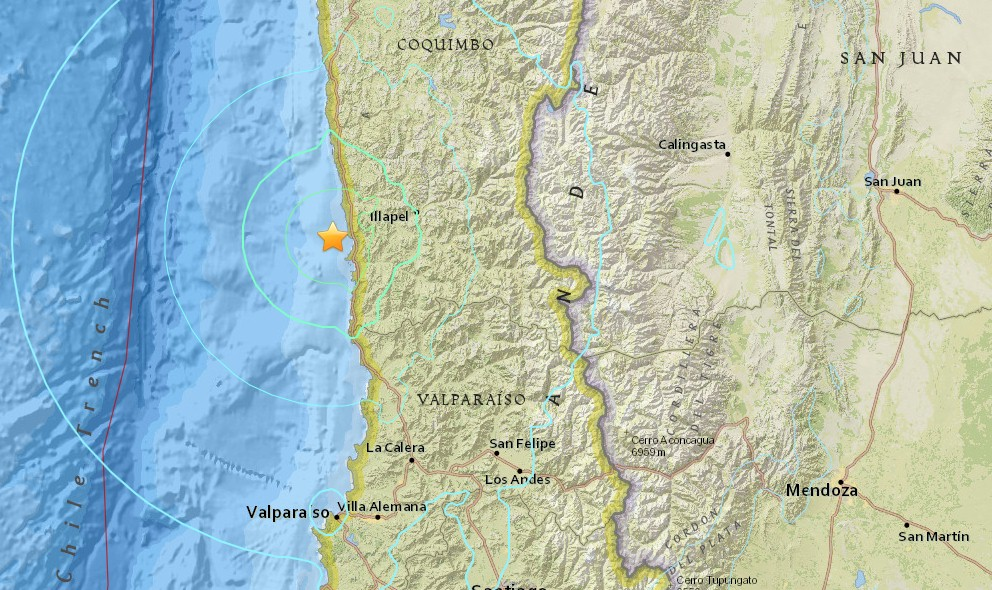 Chile Earthquake Today 2015: Strong Terremoto Strikes Again