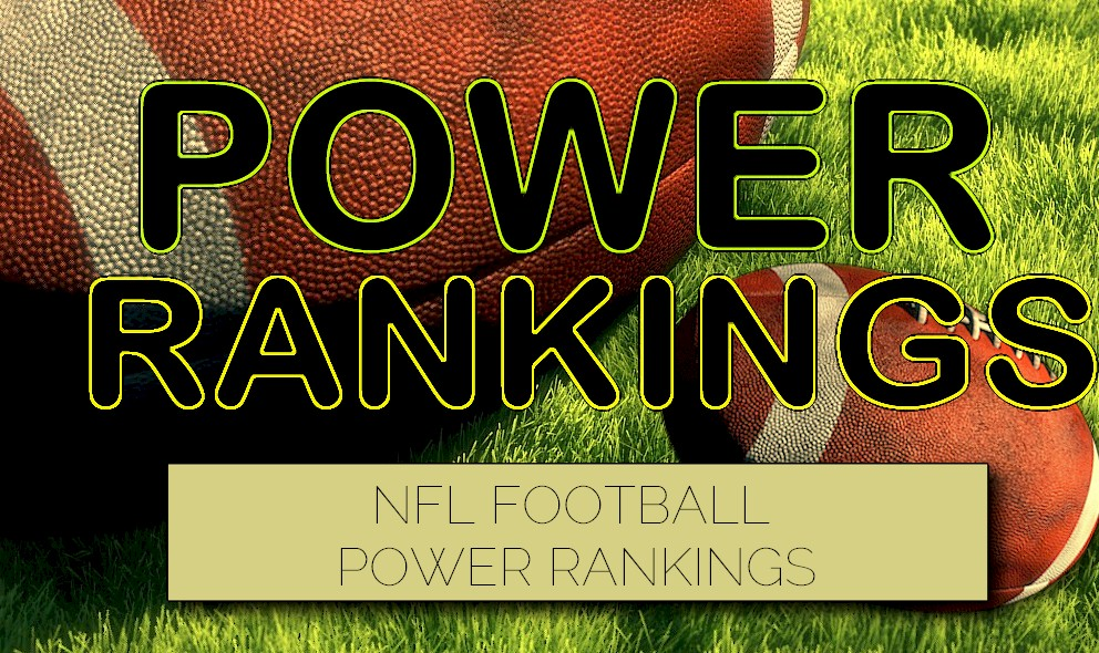 ESPN Power Rankings NFL Football: Week 4 Standings 9/29 Released Today