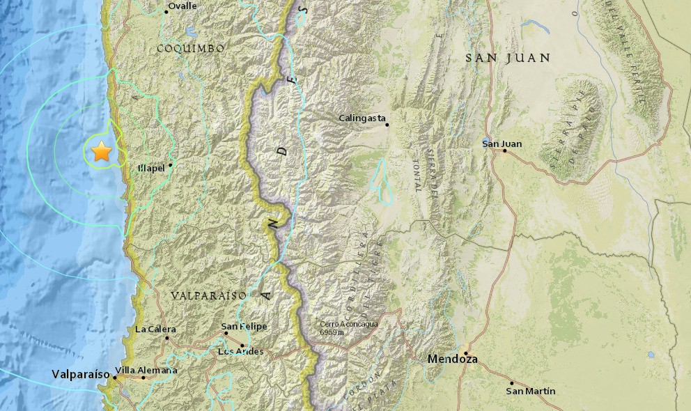 Terremoto en Chile 2015: Chile Earthquake Kills 5, Millions Evacuated
