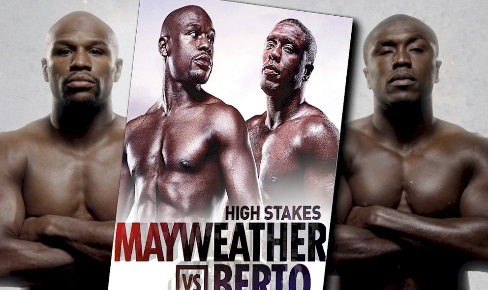 Who Won the Mayweather Fight Last Night September 2015, Mayweather vs Berto