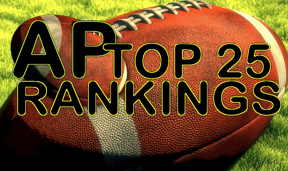 AP Top 25 Poll College Football Rankings Reveal Week 6 October 4, 2015 Standings