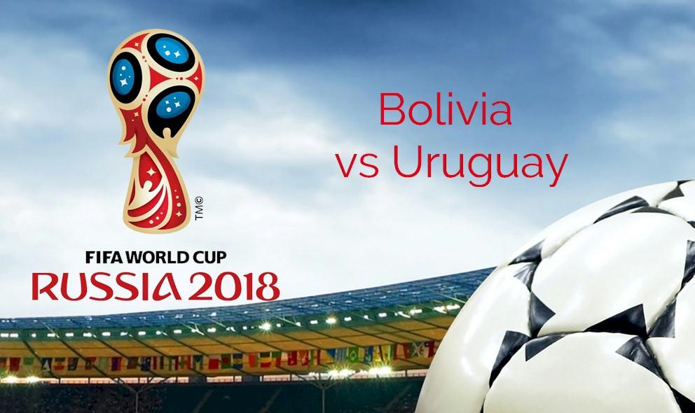 Bolivia vs Uruguay 2015 Score En Vivo Ignites Copa Mundial Qualifier