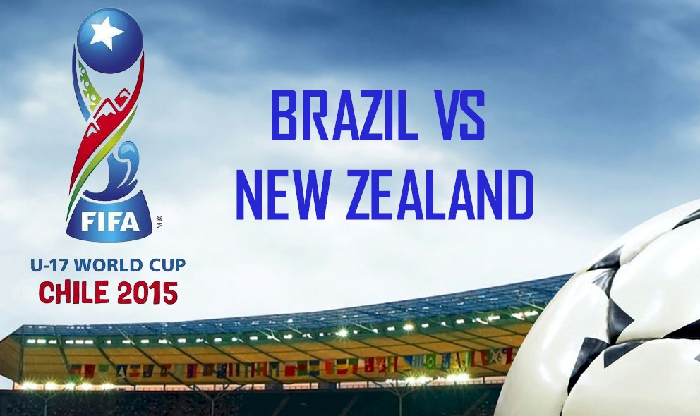 Brazil vs New Zealand 2015 Score En Vivo Heats up Copa Mundial U-17 Results