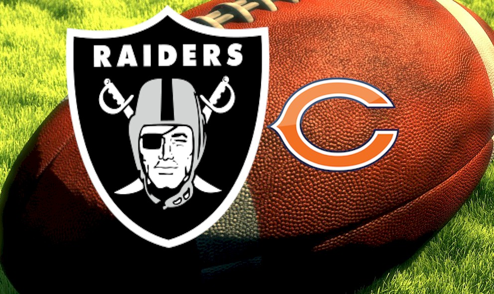 Raiders vs Bears 2015 Score: Oakland Holds Football Lead Before Half