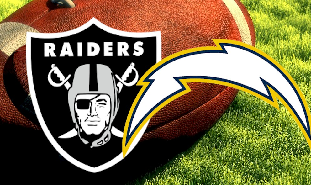 Raiders vs Chargers 2015 Score Heats Up Sunday Football Results