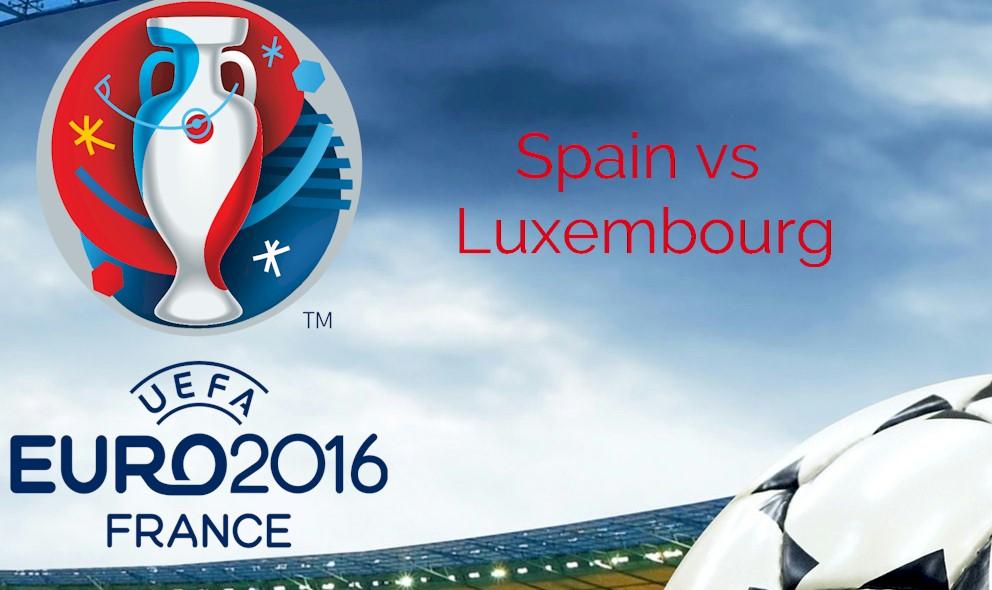 Spain vs Luxembourg 2015 En Vivo Score Ignites Euro Qualifier