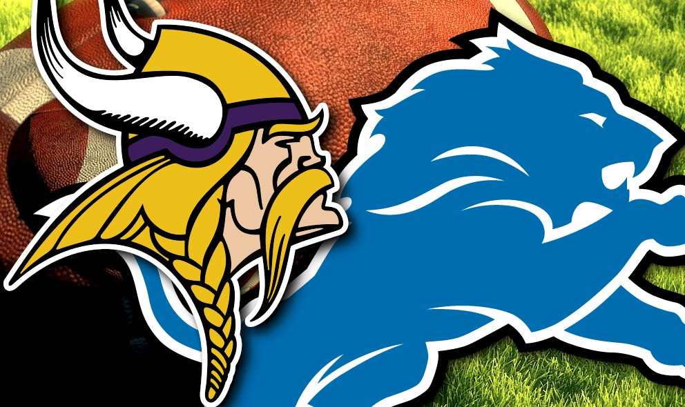 Vikings vs Lions 2015 Score Delivers NFL Football Sunday