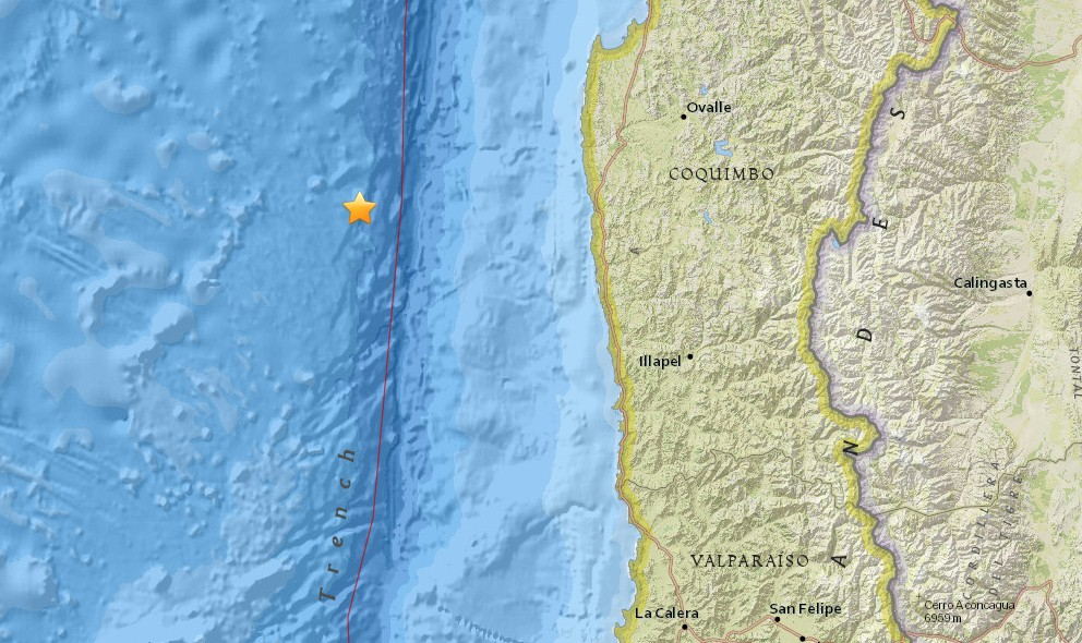 Chile Earthquake 2015 Today Strikes Ovalle