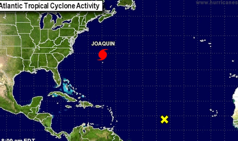 Hurricane Joaquin Projected Path Downgrades Storm: Hurricane Center