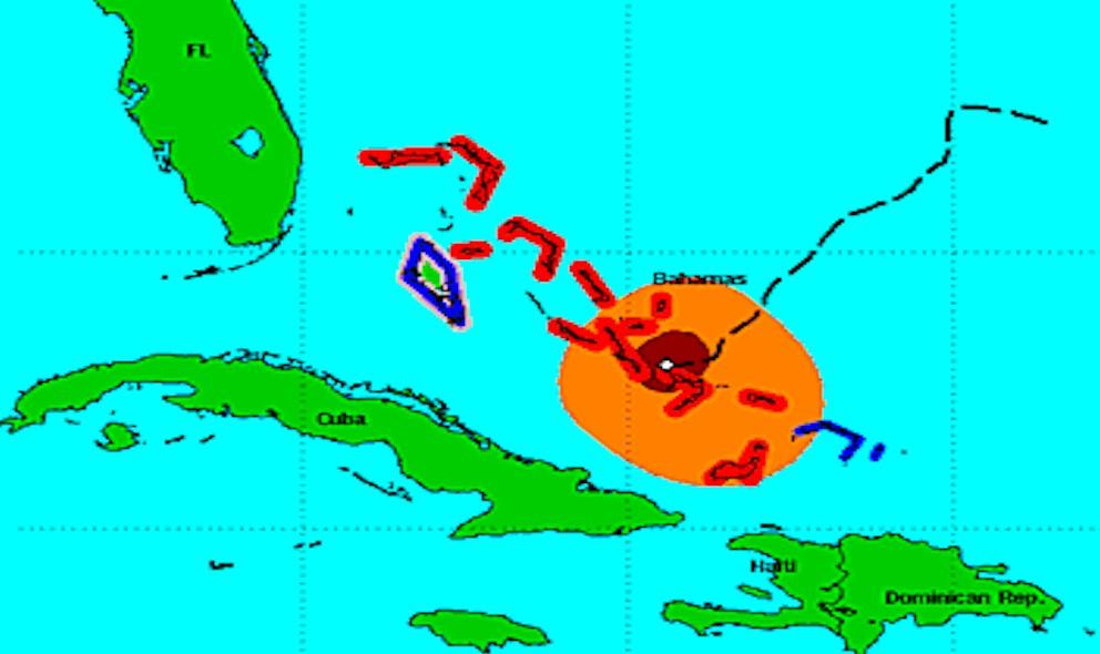 Hurricane Joaquin Projected Path Impacts Bahamas Tonight: Hurricane Center