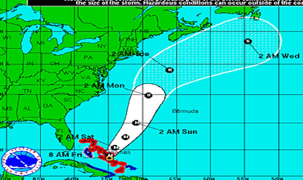 Hurricane Joaquin Projected Path: NHC Warns of 155 mph Winds