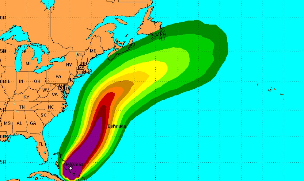 Hurricane Joaquin Projected Path Preps Bermuda: National Hurricane Center