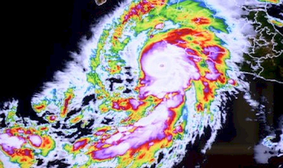 Hurricane Patricia 2015 Projected Path Prompts Texas Flooding Today