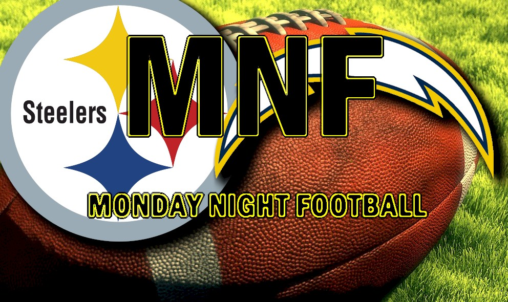 Monday Night Football 2015 Ignites Steelers vs Chargers Score, Channel