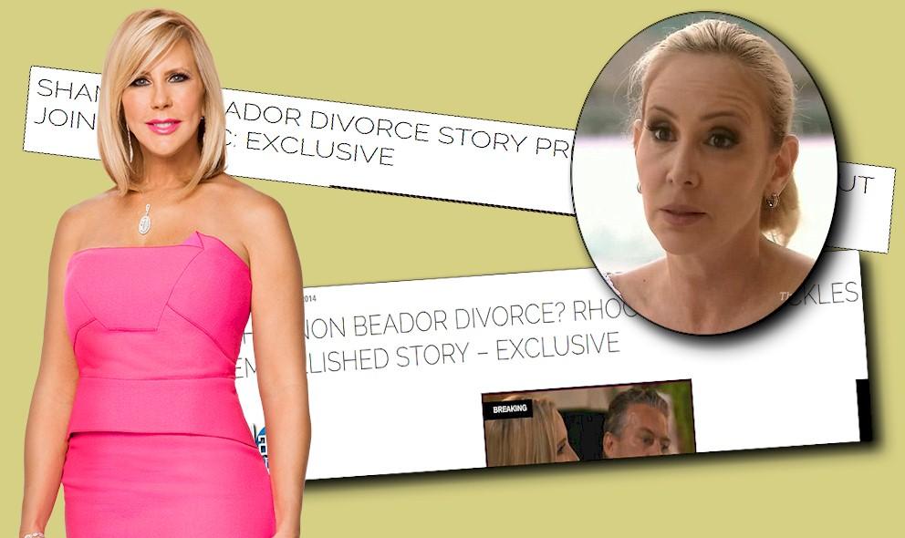 RHOC Reunion, Vicki Gunvalson: Shannon Beador Faked Divorce Email? EXCLUSIVE