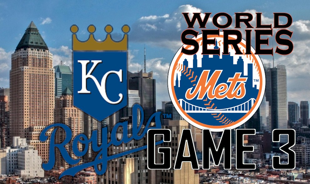 World Series Score 2015 Game 3 Results: Royals vs Mets Score Close