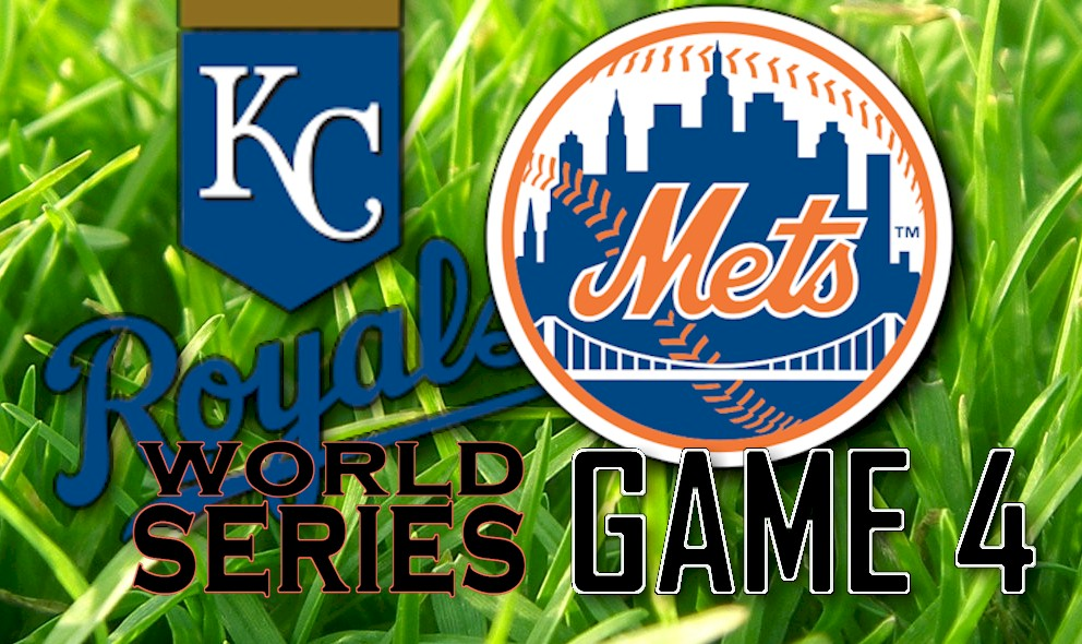 World Series Score 2015 Game 4: Royals vs Mets Score Heats Up Tonight