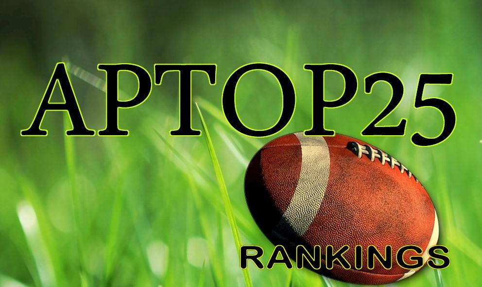 AP Top 25 College Football Poll Rankings Week 13: Ohio State Slides 11/22