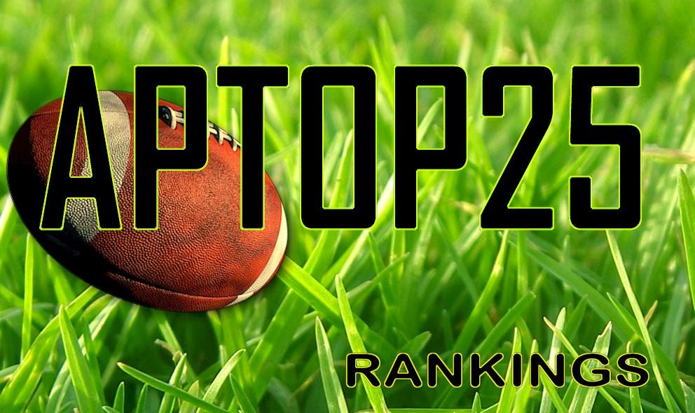 AP Top 25 Poll College Football Rankings Set Week 13 November 22 Standings