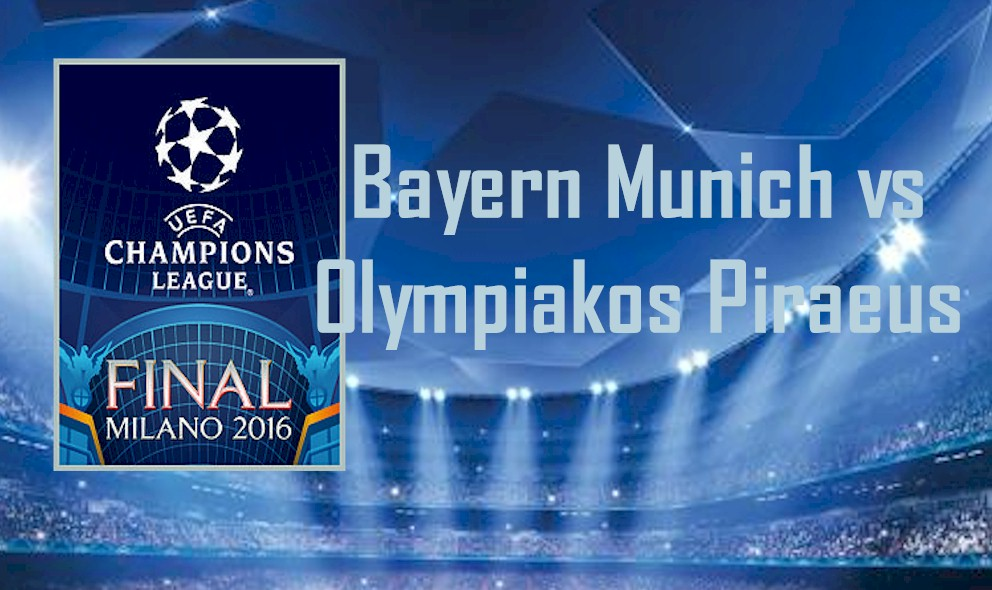 Bayern Munich vs Olympiakos Piraeus 2015 Score Delivers UCL League Results