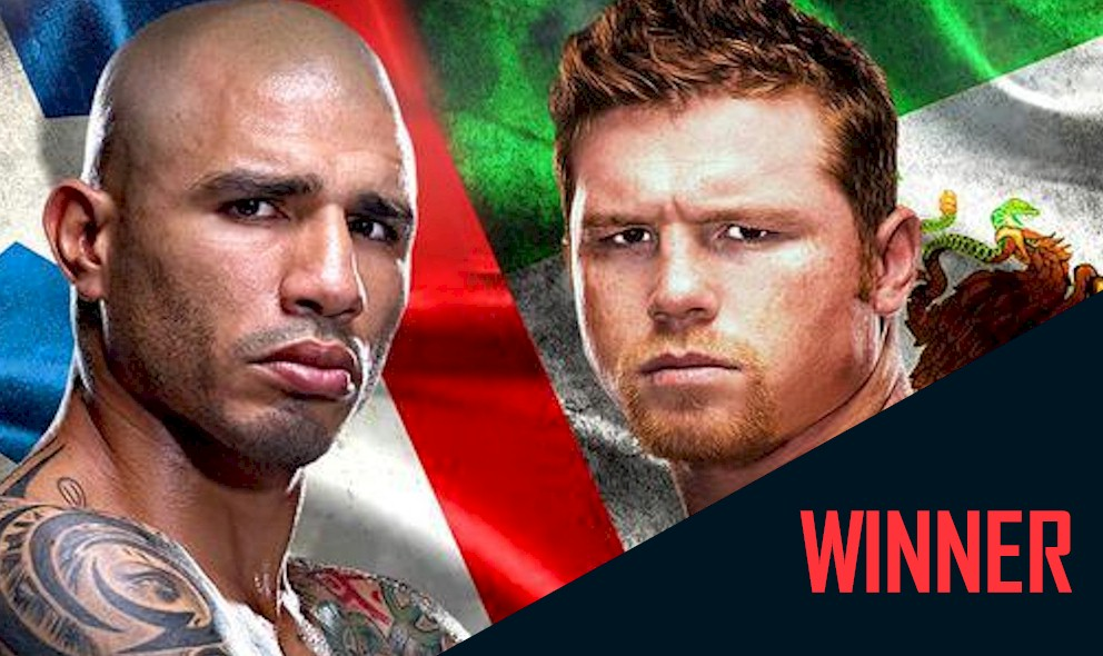 Cotto vs. Canelo Alvarez Boxing Results: Who Won Cotto vs Canelo 2015