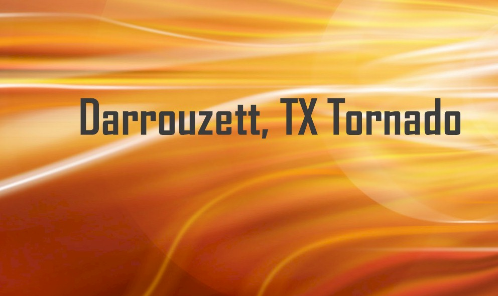 Darrouzett, TX Tornado 2015 Today Prompts Texas, Oklahoma New Warning