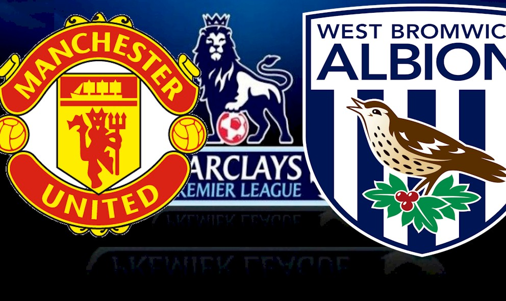 Manchester United vs West Bromwich Albion 2015 Score Updates EPL Table