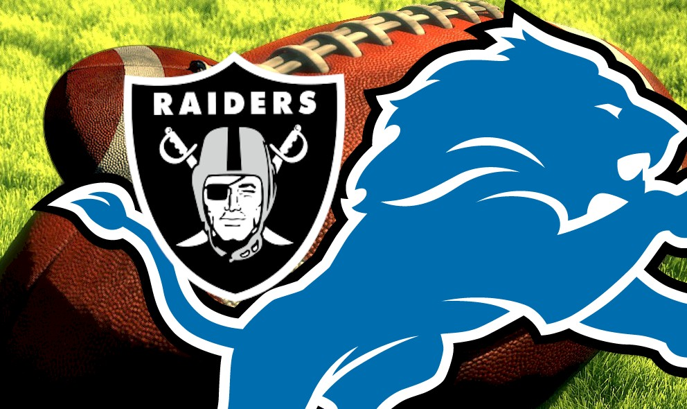 Raiders vs Lions 2015 Score Heats up NFL Football Results Today