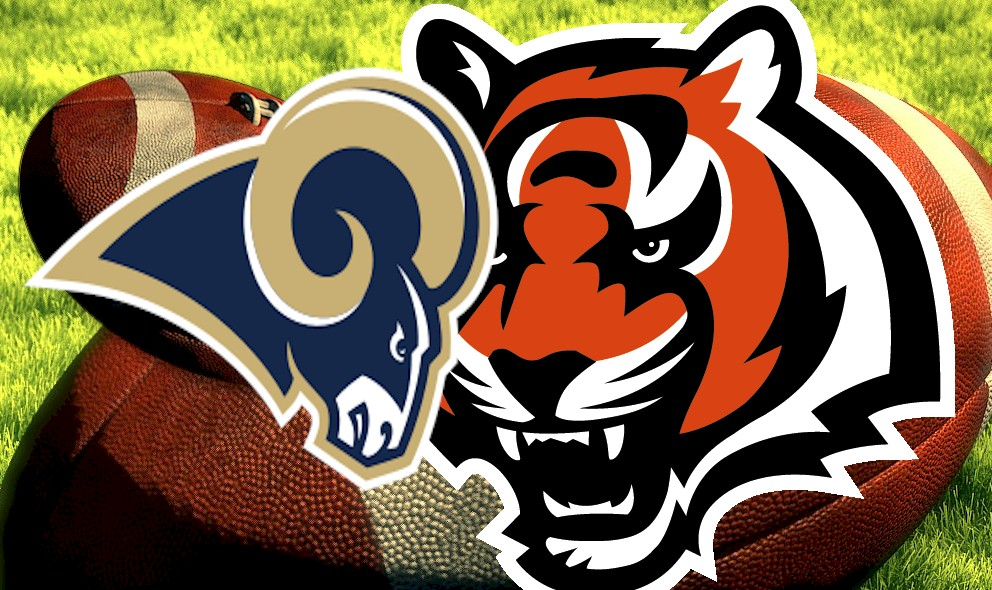 Rams vs Bengals 2015 Score Prompts NFL Football Sunday Results