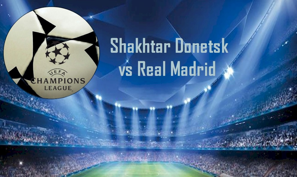 Shakhtar Donetsk vs Real Madrid 2015 Score En Vivo Ingites Champions League