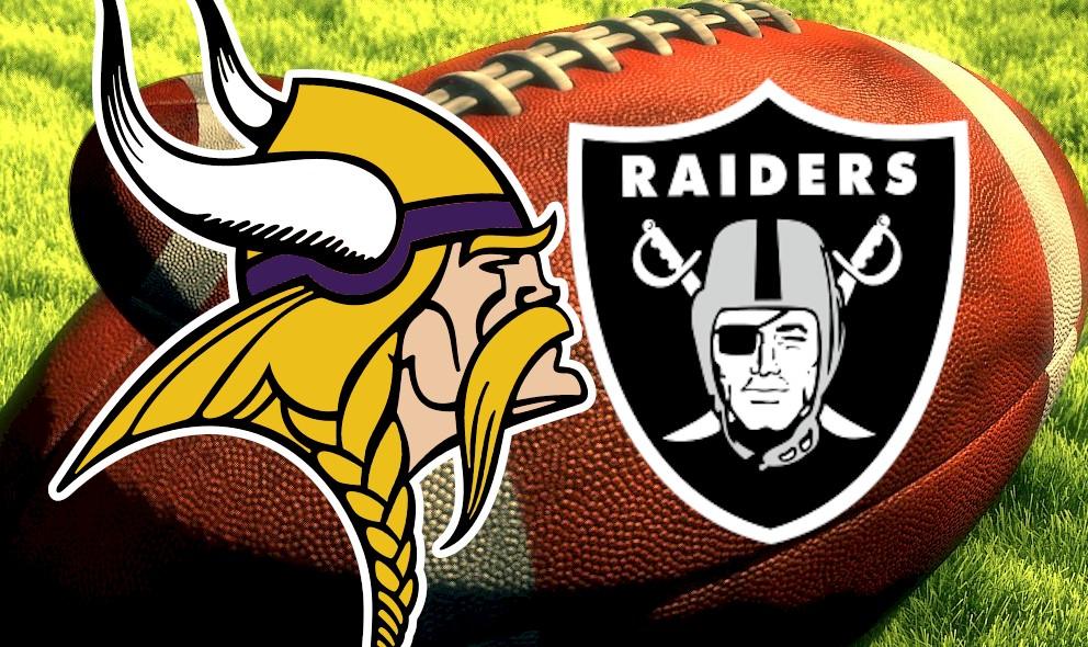 Vikings vs Raiders 2015 Score Heats up NFL Football Sunday Results