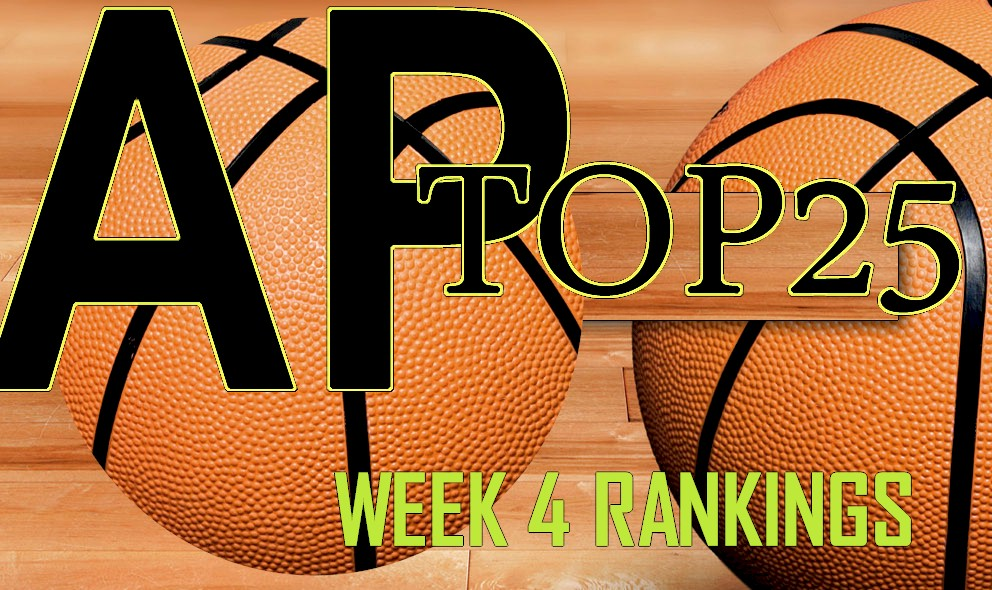 AP Top 25 College Basketball Rankings Poll Unveil Week 4 Standings 11/30