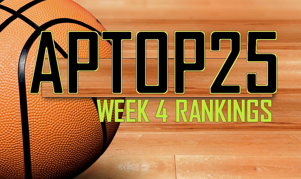 AP Top 25 Poll College Basketball Rankings Reveal Week 4 11/30 Rankings