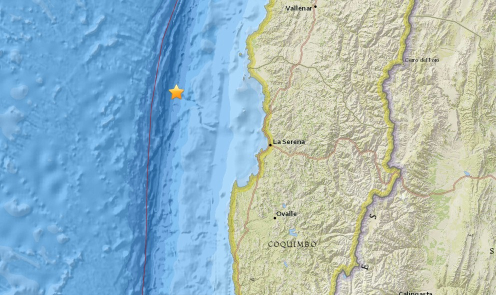Chile Earthquake Today 2015: Terremoto Strikes Off the Coast Again
