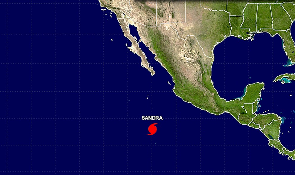 Hurricane Sandra Projected Path: National Hurricane Center Updates Mexico