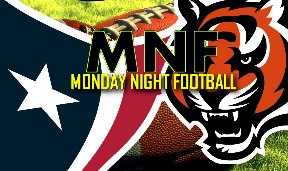 Monday Night Football Score Results 2015 Ignite Texans vs Bengals